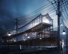 Tokyo Popular Culture Laboratory Merges Technology and Traditions Seamlessly - eVolo | Architecture Magazine