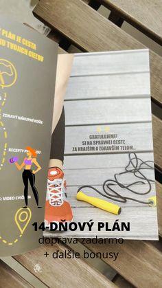 📒 Začni so 14-dňovým plánom pre krajšie a zdravšie telo a dosiahni svoje ciele v oblasti zdravého životného štýlu s chuťou a radosťou. 👉🏻 14-dňový plán je overený systém jedálničku, 40 receptov, cvikov, tréningového plánu na každý deň a motivácie, ktorý pomohol už viac ako 30 000 ženám. Navyše teraz ho môžeš získať s bonusmi a dopravou zadarmo. P. S. Táto limitovaná ponuka platí iba pre prvých 100 najrýchlejších žien. Fitness Goals, Fitness Tips, Fitness Motivation, Fitness Journal, Acv, Planer, Fitness Hacks, Fit Motivation, Exercise Motivation