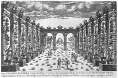 Theatre Designers Historic: Giacomo Torelli (1608-1678) was a military engineer and stage designer that worked extensively with special effects related to the sets he made. He worked in France starting in 1645, making machinery that moved heavy sets. He's the one that's jealous assistant ruined all his work after his death.