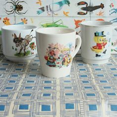 Vintage Child's Magic Roundabout Cup