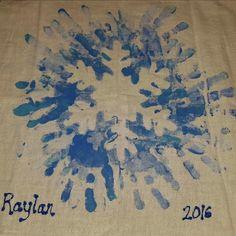 Christmas Handprint Crafts, Handprint Art, Christmas Projects, Kids Christmas, Holiday Crafts, Snowflakes For Kids, Snowflake Craft, Portfolio Kindergarten, Winter Crafts For Kids