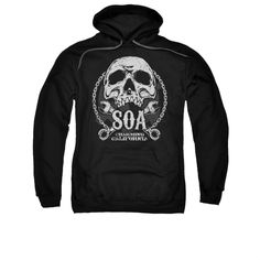 SONS OF ANARCHY SOA CLUB Adult Fleece Pull Over Hoodie