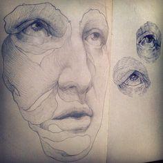 #Moleskine #Drawing #Sketch