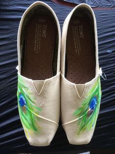 23 Best Painted shoes images | Painted shoes, Shoes, Hand