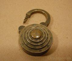 RestraintsBlog: Depose Flat Dials Combination Padlock