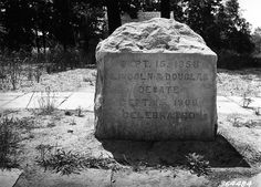 Historical marker commemorating one of the 1858 Abraham Lincoln/Stephen A. Douglas debates in Illinois. (Photo dated 6/3/1938)