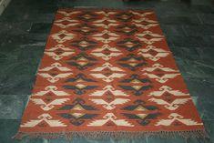 One-Of-a-Kind Geometric Tribal Kilim Kashkoli Persian Hand-Woven Area Rug Indian Rugs, Large Rugs, Turkish Kilim Rugs, Wool Rug, Jute, Persian, Bohemian Rug, Oriental, Fair Price