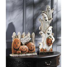 "Country Village Shoppe - ""Pumpkins for Sale"" Tablepiece, $46.95 (http://www.countryvillageshoppe.com/pumpkins-for-sale-tablepiece/)"