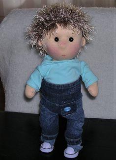My Dolls on Meska Handmade Dolls, Teddy Bear, Toys, Animals, Activity Toys, Animales, Animaux, Clearance Toys, Teddy Bears
