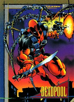Trading cards from comic books, including Marvel, DC Comics, Image and more. Marvel Comics Superheroes, Marvel Heroes, Deadpool Photos, Marvel Cards, Comics Toons, Marvel Comic Character, Comic Book Covers, Animation Film, Comic Artist