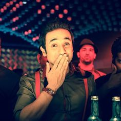 Vir Das is all smiles while filming Harry's Not A Brahmachari on the sets of #ShaadiKeSideEffects