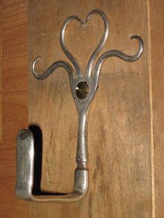Fork hook-cute for kitchen towel