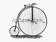Bicycle old image - Old Bicycle Drawing - Vintage illustration 1890 - 1891 by AntiqueStock on Etsy https://www.etsy.com/listing/169965996/bicycle-old-image-old-bicycle-drawing