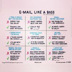 E-Mail auf Englisch schreiben 📧: Wichtige Phrasen und Redewendungen! Email Like A Boss, Vie Motivation, Workplace Motivation, Staff Motivation, Workplace Quotes, English Writing Skills, Teaching English, Job Interview Tips, Job Interview Questions