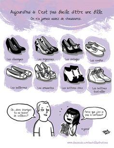 chaussures par Bach Illustrations