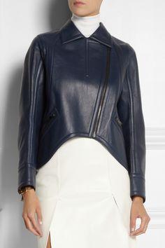 Fendi|Leather jacket|NET-A-PORTER.COM
