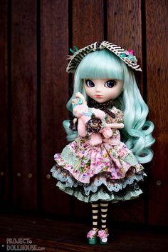 Alice Du Jardin Mint Pullip- photo by Project Dollhouse