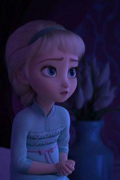 Little Elsa Frozen 2 Princesa Disney Frozen, Disney Frozen Olaf, Disney Princess Frozen, Elsa Frozen, Baby Disney, Disney Art, Arendelle Frozen, Frozen Movie, Disney Princess Quotes