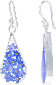 FINE JEWELRY Sterling Silver Drop Earrings