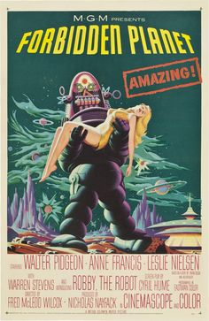Forbidden Planet posters for sale online. Buy Forbidden Planet movie posters from Movie Poster Shop. We're your movie poster source for new releases and vintage movie posters. Horror Vintage, Retro Horror, Sci Fi Horror, Horror Movie Posters, Horror Movies, Scary Movies, Classic Sci Fi Movies, Classic Movie Posters, Retro Posters