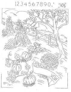 Hoop Love Vintage Transfers - vintage embroidery transfers group on Flickr