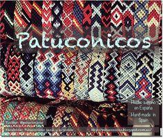 FriendShip bracelet hand made in Spain. Pulseras patuconicos hechas a mano en España