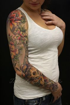 Tattoo for Women: Arm tattoos