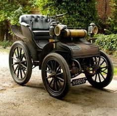 1897 Daimler Phaeton - Se fabricaron solo 87 unidades entre 1897 y 1901