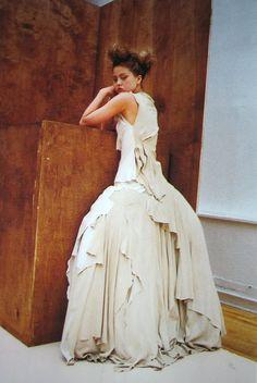Nylon, 2000  Photographer: Nick Haymes  Yohji Yamamoto, Fall 2000