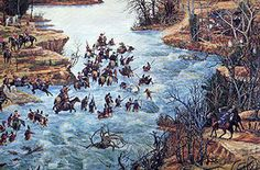 The Battle of Cowan's Ford was a battle in the Southern Theater of Cornwallis's 1780–1782 Campaign that eventually led to the British Army's surrender at Yorktown during the American Revolutionary War. It was fought on 1 February 1781 at Cowan's ford on the Catawba River in Mecklenburg County, North Carolina, between a force of about 5,000 British and fewer than a thousand Americans who were attempting to slow the British advance across the river. The American general William Lee Davidson…