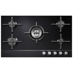 Fisher Paykel CG905DNGGB1 - 90cm 5 Burner Gas On Glass Hob | Appliance City