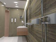 Shower and shelf detail