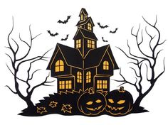 This image is made of construction paper and tracing paper and has approx. Halloween Scarecrow, Spooky Halloween Decorations, Halloween Haunted Houses, Halloween Images, Halloween Patterns, Halloween Signs, Halloween Crafts, Halloween Tattoo, Halloween Painting