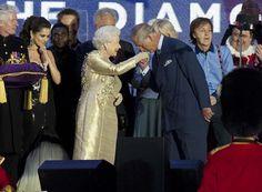 Charming...son kissing Mum's hand....The Diamond Jubilee Concert, via Flickr.