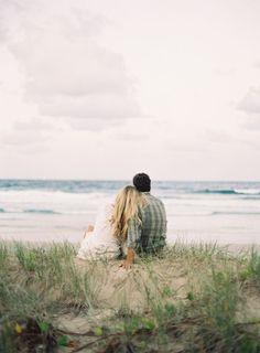 Sophie and Nick. A Byron Bay engagement. - fine art wedding photography, byron bay, brisbane