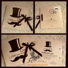 ΔΙΠΤΥΧΟ ΠΡΟΣΚΛΗΤΗΡΙΟ ΜΕ ΘΕΜΑ ΜΟΥΣΤΑΚΙ #invitation #littleman #baptism #baptismfavors Little Man, Birthday Cake, Gift Wrapping, Invitations, Gifts, Paper Wrapping, Birthday Cakes, Wrapping Gifts, Gift Packaging