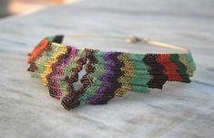 Colourfull Macrame Choker Necklace