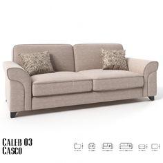 Caleb 3 sz kanapé bézs