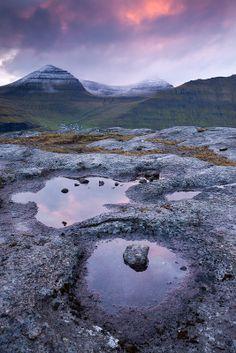 Roof of the Faroe Islands ~ the highest mountain in the islands, Slaettaratindur on Eysturoy.  Photo: Adam Burton