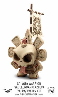 Warrior Skullendario Azteca