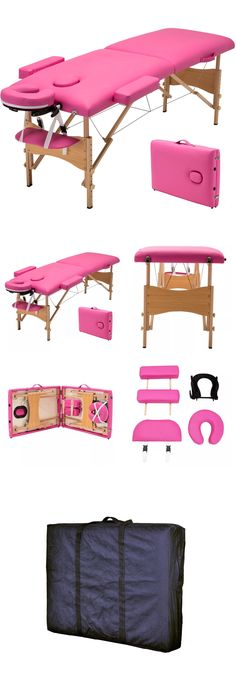 Eyelash Tools: New Pink Eyelash Extension Training Bed Kit Furniture Equipment Glue (Portable) BUY IT NOW ONLY: $94.99