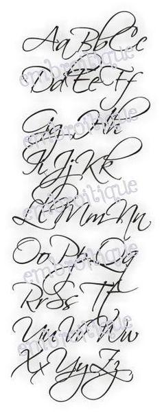 All Products - Olivia Monogram Set - Alphabet Script Romantic Font on sale now at Embroitique!