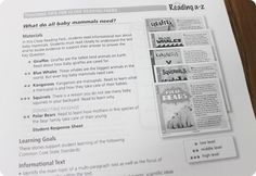 Reading a-z close reading packs