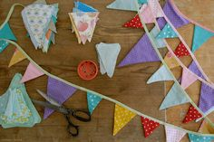 Summer Project - Fabric Buntings