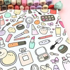 Likes, 24 Comments - ⭐️KiraKiraDoodles (. - Source by Dresses kawaii Kawaii Drawings, Doodle Drawings, Easy Drawings, Doodle Art, Kawaii Doodles, Cute Doodles, Griffonnages Kawaii, Kawaii Makeup, The Joy Of Painting