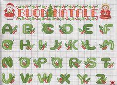 alfabeto natale