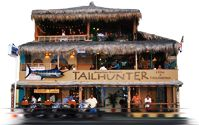 No visit to La Paz, BCS, Mexico, is complete without an evening at Tailhunter. Join hosts Jonathan & Jillene to watch the sunset from their palapa-style restaurant on the waterfront and then enjoy a fantastic meal and the best drinks in town.