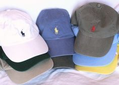 One day I'll own ALL the polo hat colors