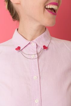 Ok, this heart collar pin I'll be wearing not only during Valentine's...  Read more »