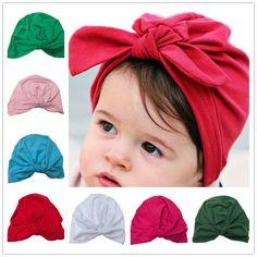 ... Bnaturalwell turbante chapéu do bebê com arco turbantes para tots  meninas do bebê arco chapéus Criança beanie hat Fotografia Props 1 pc H034  em Toucas e ... db69a4c4022